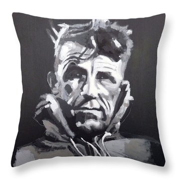 Sir Edmund Hillary Throw Pillow