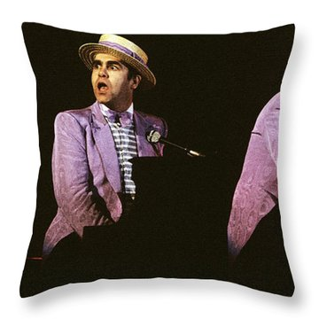 Sir Elton John 3 Throw Pillow