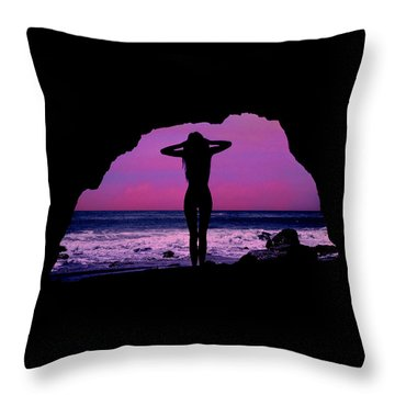 Siren Song Throw Pillow