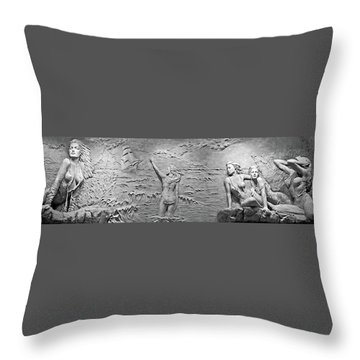 Throw Pillow featuring the photograph Sirens by Kristin Elmquist