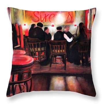 Sirens Pub Throw Pillow