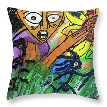 Sirius Daze Throw Pillow