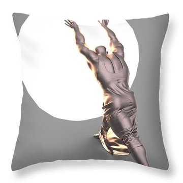 Sisyphus Lamp 04 Throw Pillow