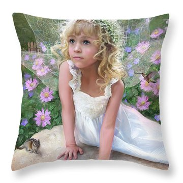 Sissy Fairy Throw Pillow