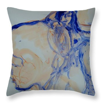 Sisterhood Throw Pillow by Judith Redman