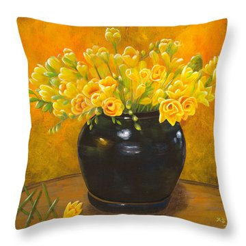 A Gift From The Past Throw Pillow