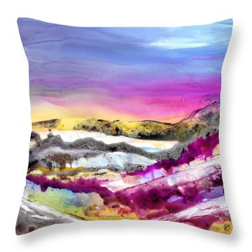 Site Of Obscurity Throw Pillow