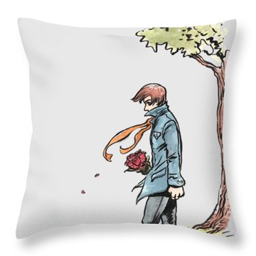 The Site Visitor Throw Pillow