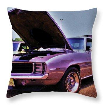 Sittin' Pretty Throw Pillow