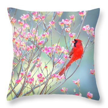 Sittin' Pretty Throw Pillow