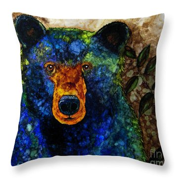 Sitting And Waiting Throw Pillow