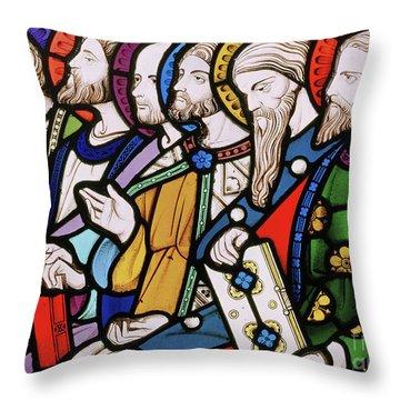 Six Apostles Throw Pillow