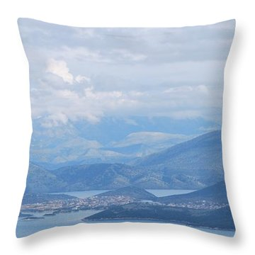 Six Islands  Throw Pillow by George Katechis