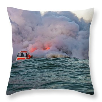 Throw Pillow featuring the photograph Six Pac by Jim Thompson