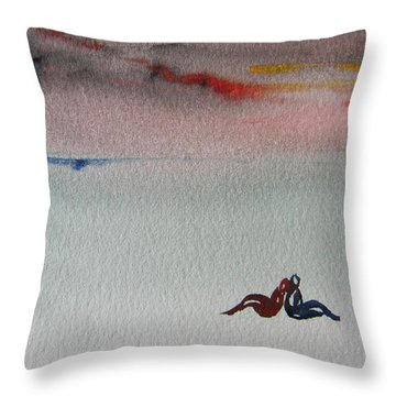 Six Seasons Dance Six Throw Pillow
