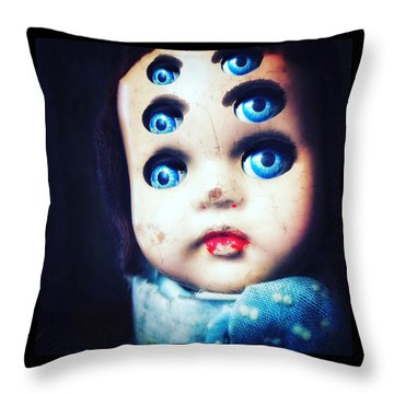 Six Throw Pillow