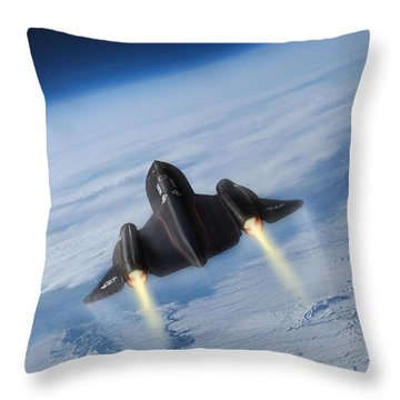 Supersonic Speed Throw Pillows