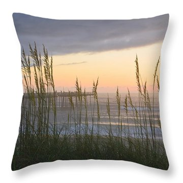 Throw Pillow featuring the photograph Sixth Of July Sunrise by Barbara Ann Bell