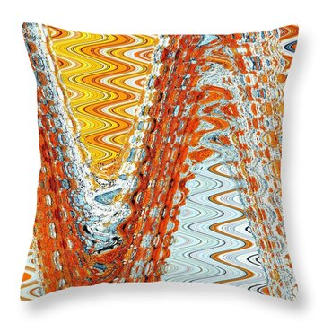 Sizzle Rock Throw Pillow
