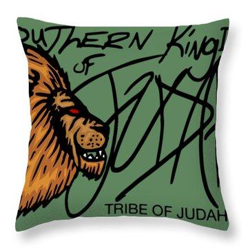 Sk Of Judah Throw Pillow