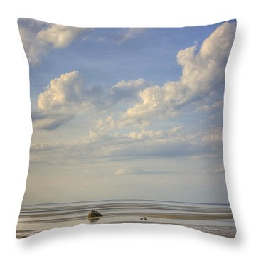 Skaket Beach Cape Cod Throw Pillow