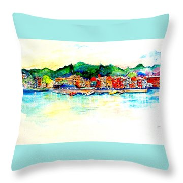 Skaneatelels Ny Throw Pillow