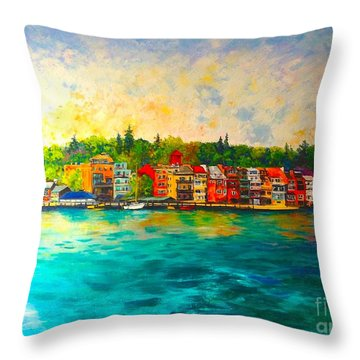 Skaneateles Throw Pillow