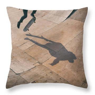 Skater Boy 001 Throw Pillow