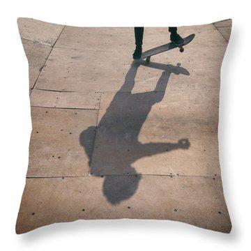 Skater Boy 002 Throw Pillow