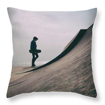 Skater Boy 006 Throw Pillow