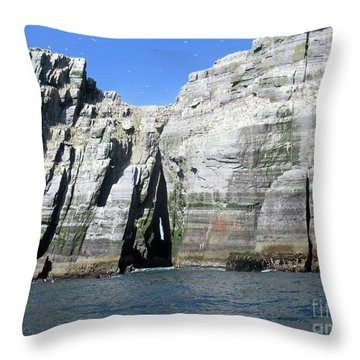 Skellig Islands 6 Throw Pillow