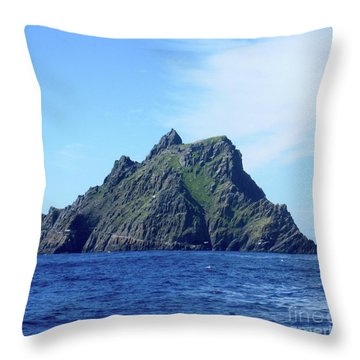 Skellig Islands 8 Throw Pillow