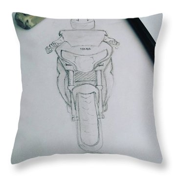 Sket Cbr250r #cbr250r Throw Pillow