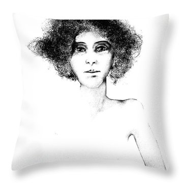 Sketch 108 Throw Pillow