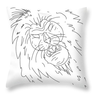 Sketch A15 Throw Pillow