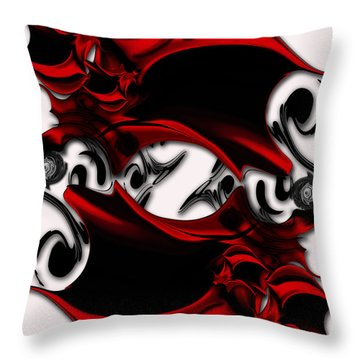 Sketch Of Aesthetic Dimensionality Throw Pillow