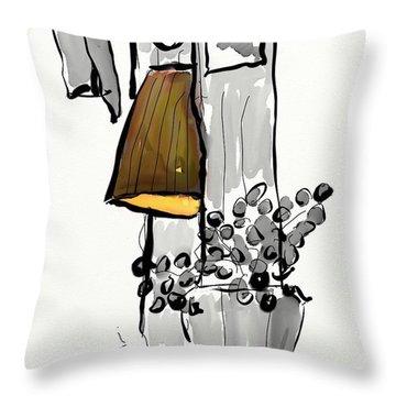 Sketch Of Interior Throw Pillow