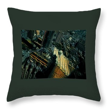 Skewed View Throw Pillow