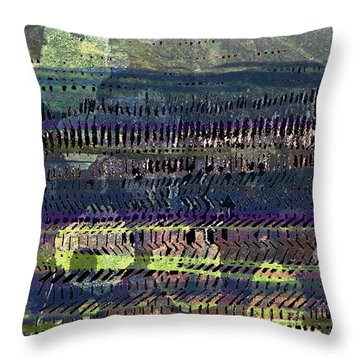 Skidda Throw Pillow by Andy  Mercer