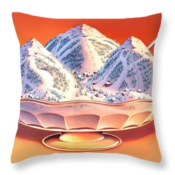 Ice Throw Pillows