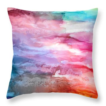 Skies Emotion Throw Pillow