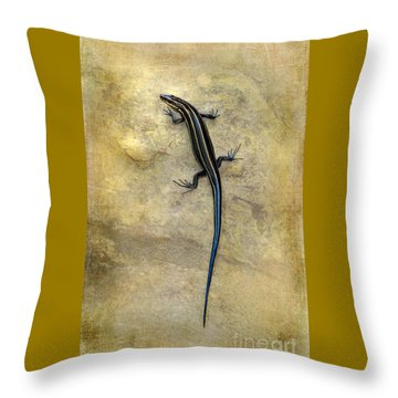 Skink Throw Pillow