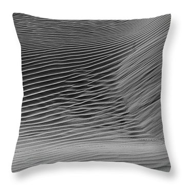 Skn 1132 Wind's Creation Throw Pillow by Sunil Kapadia