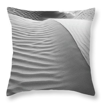 Skn 1414 The Rhythmic Demarcations Throw Pillow by Sunil Kapadia
