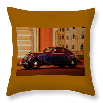 Praha Throw Pillows