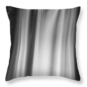 Skogarfoss Iceland Throw Pillow