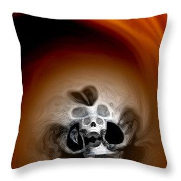 Skull Scope 3 Throw Pillow