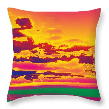 Sky #1 Throw Pillow