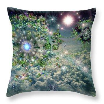 Sky 11-11 Throw Pillow