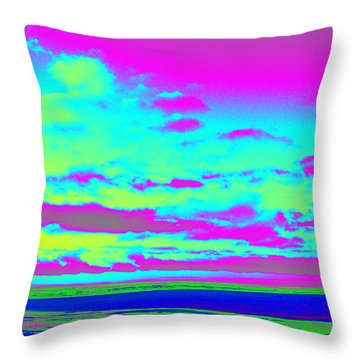 Sky #2 Throw Pillow